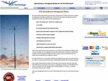 Broadband Hex Beam Performance