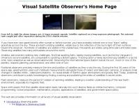 Visual Satellite Observer