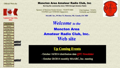 Moncton Area Amateur Radio Club Inc.