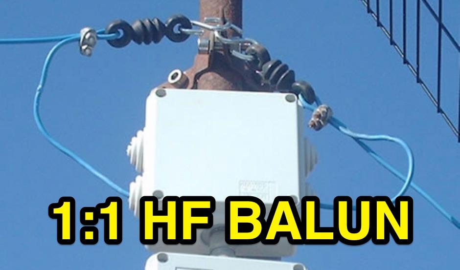 1:1 HF Balun