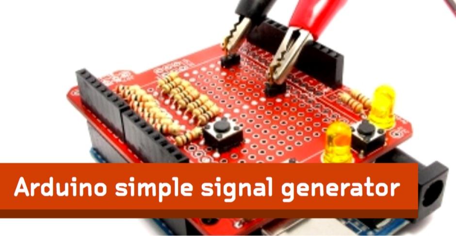 Arduino simple signal generator - Resource Detail - The DXZone com