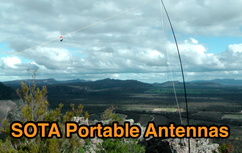 Overview on some SOTA portable antennas