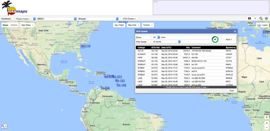 iotamaps - IOTA mapping project
