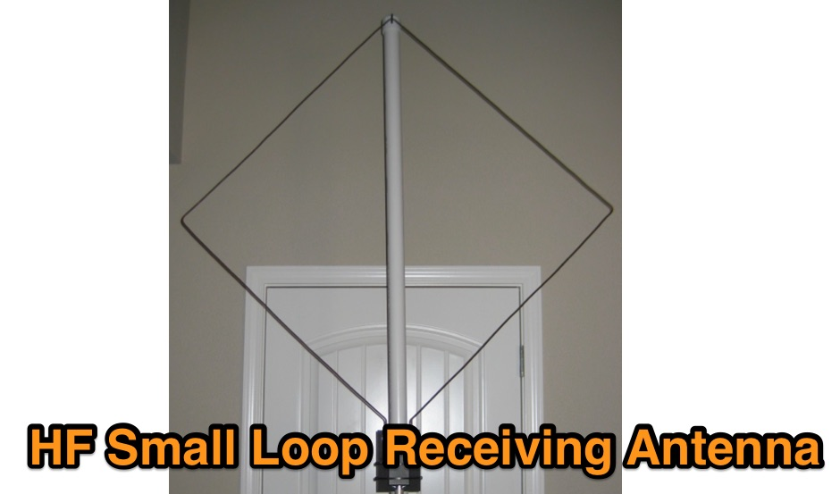 Small Loop Antenna Array for HF Reception