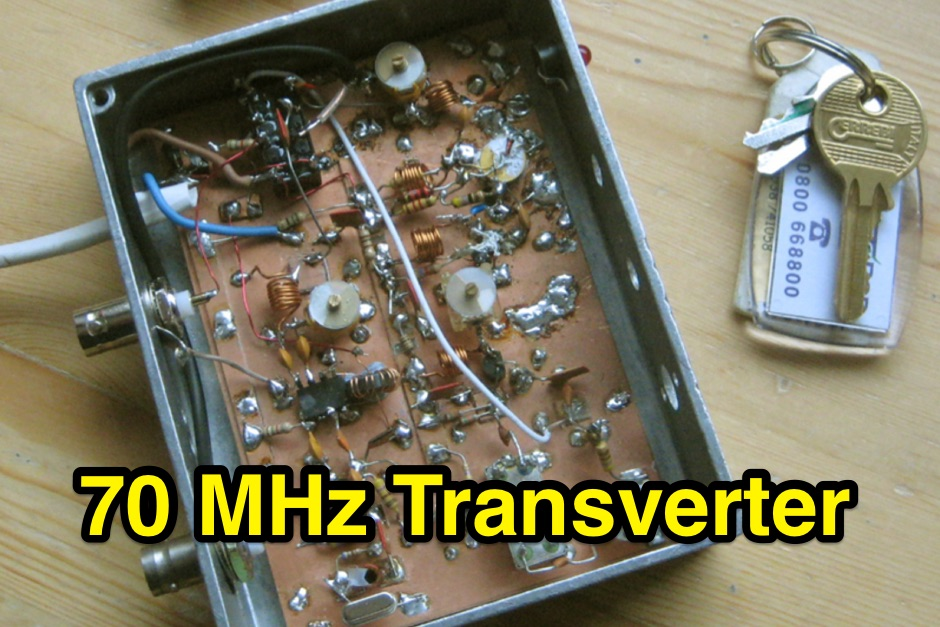 4m Transverter Project