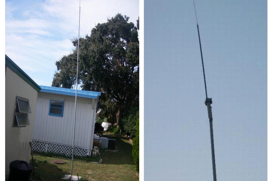 Vertical Antenna 10 through 80 Meter