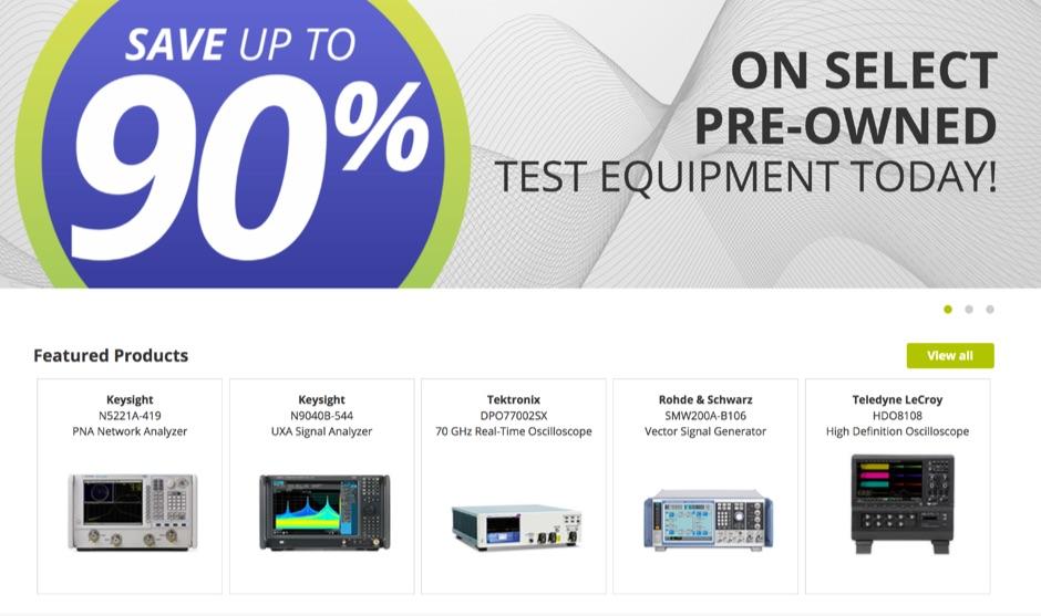 TRS RenTelco - Test Equipment Rental