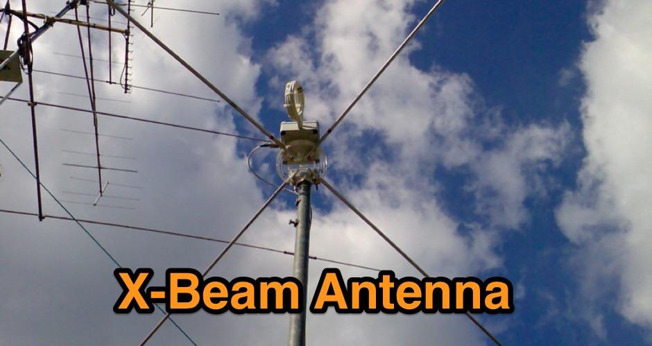 X-Beam antenna for 50 MHz