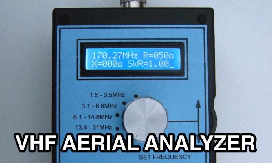 VK5JST VHF AERIAL ANALYSER