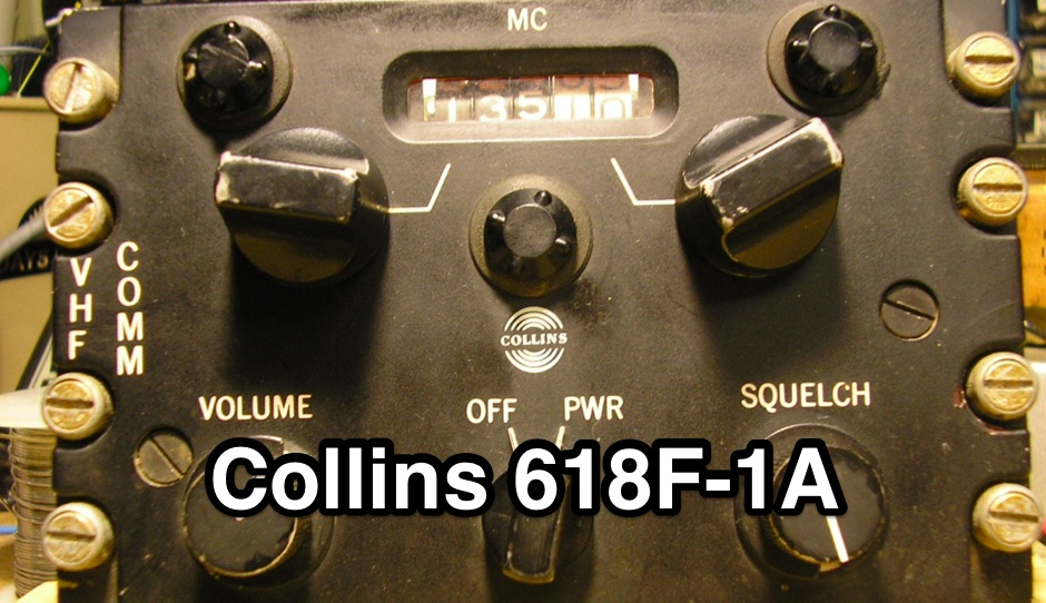 Collins 618F-1A VHF Aircraft Transceiver