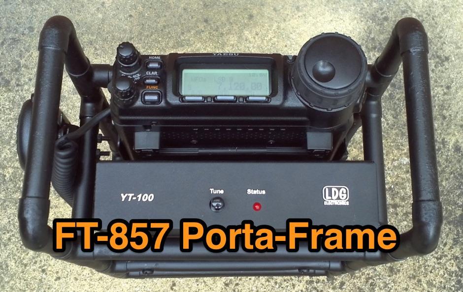 FT-857 Porta-Frame