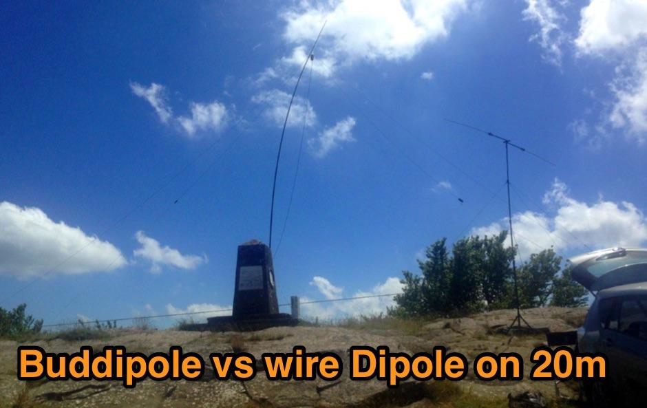 Buddipole vs Wire Dipole on 20m
