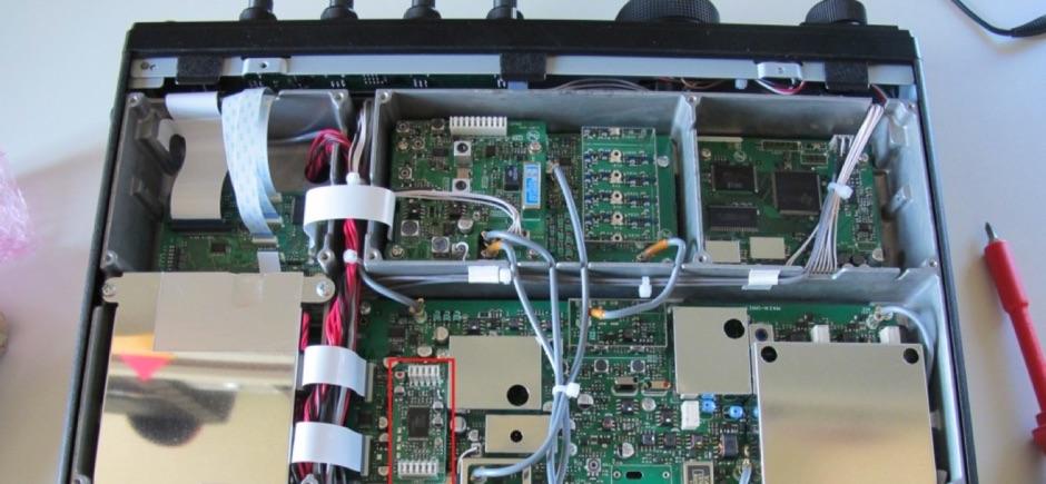 Yaesu FTdx3000 DVS-6 Install