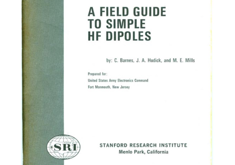 A Field Guide to Simple HF Dipoles