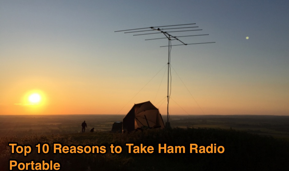 Top 10 Reasons to Take Ham Radio Portable
