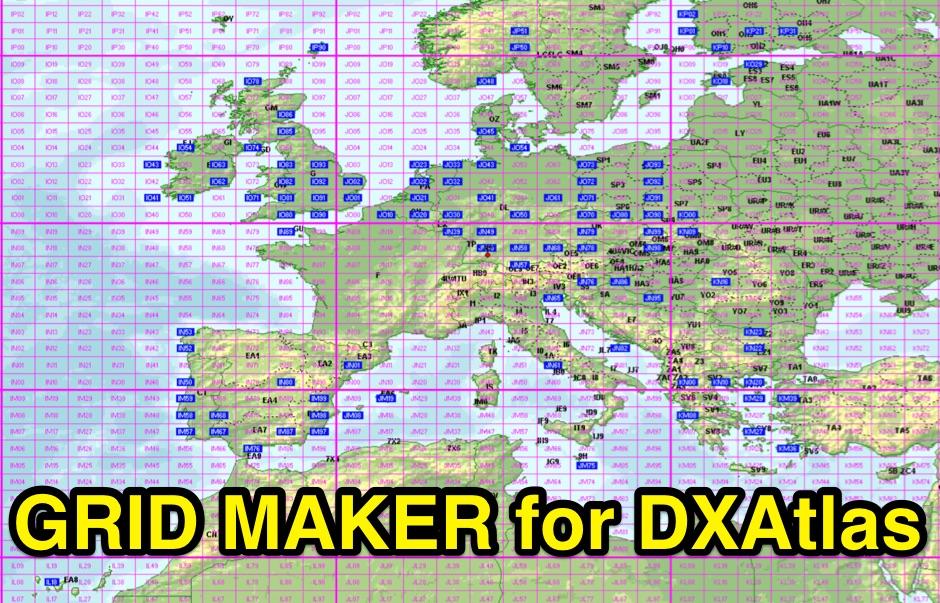 Gridmaker for DXAtlas