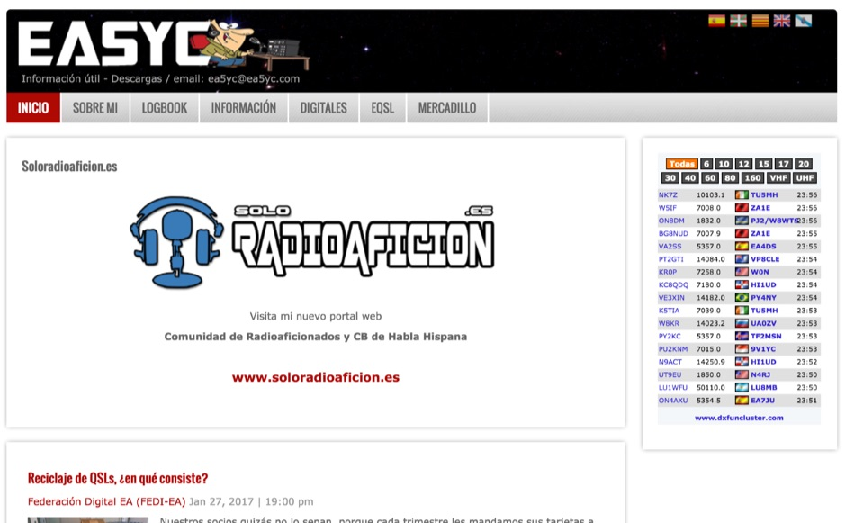 EA5YC - Amateur Radio From Spain
