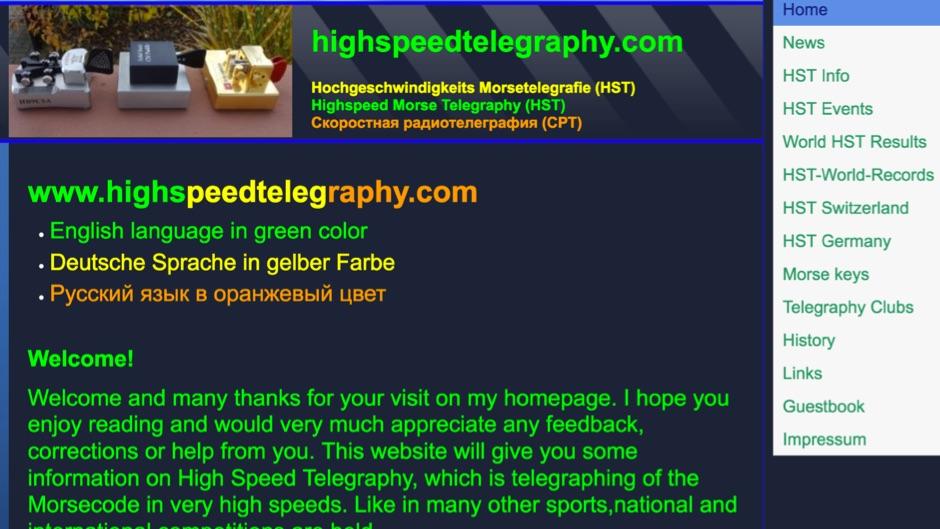 HST - highspeedtelegraphy