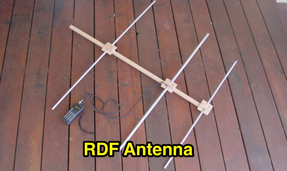 A Homebrew Antenna used for RFI Direction Finding