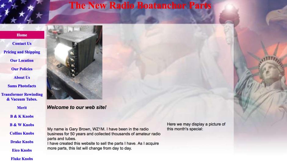 The New Radio Boatanchor Parts
