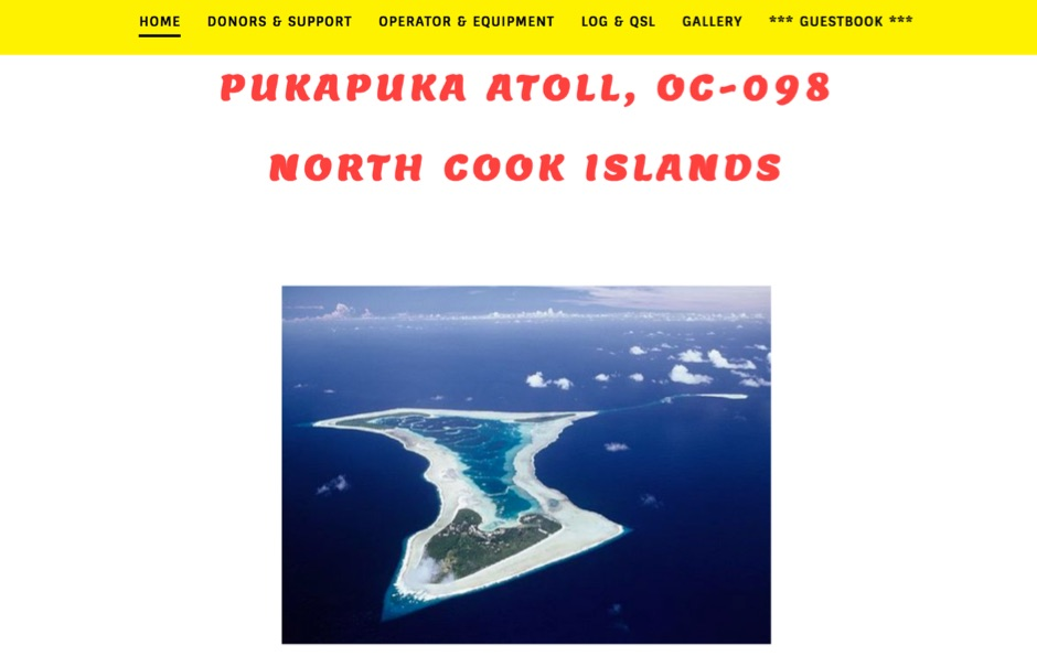 E51LYC North Cook Islands