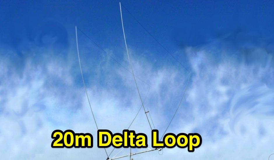 2 Elements Delta Loop for 14 MHz