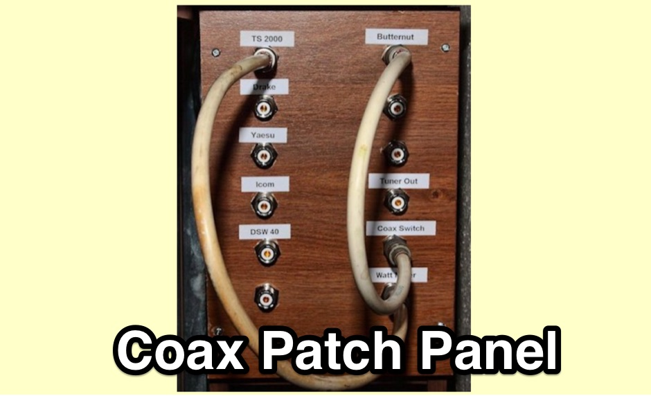Make Your Own Coax Patch Panel