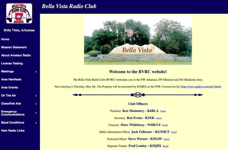 BVRC - Bella Vista Radio Club