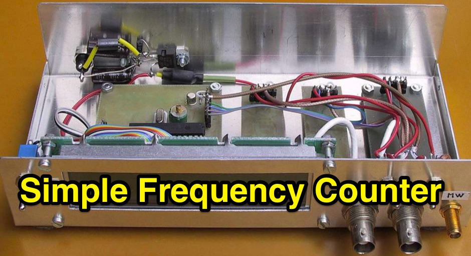 Basic Frequency Counter : Cool delta loop antenna projects for meters