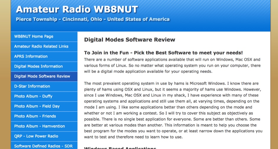 Digital Modes Software Review