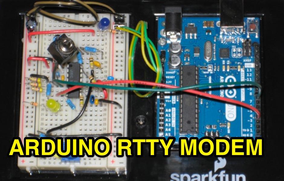 RTTY Modem for Arduino
