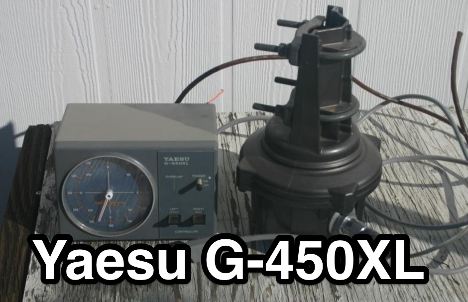 Yaesu G-450XL Rotator Problem - Resource Detail - The DXZone com