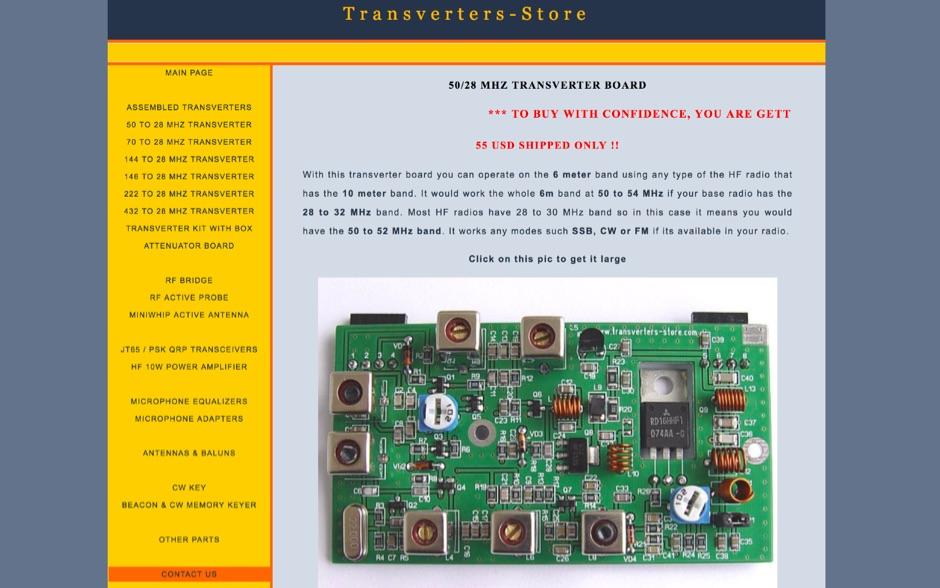 Transverters-Store
