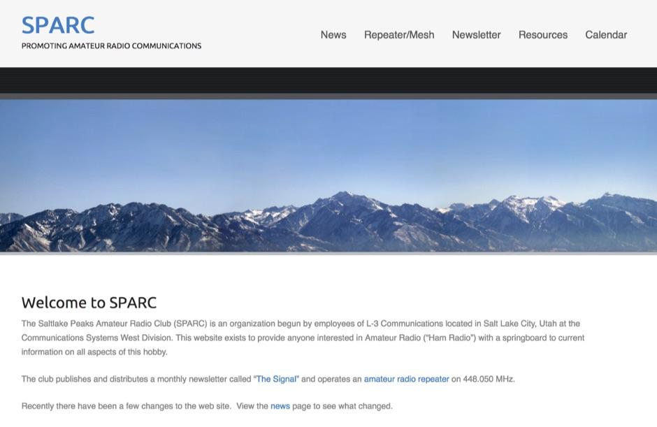 K7CSW - Saltlake Peaks Amateur Radio Club