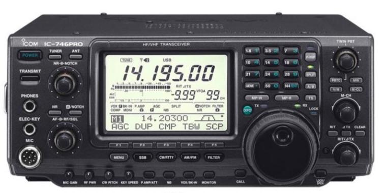 ICOM IC-746PRO Frequency Calibration