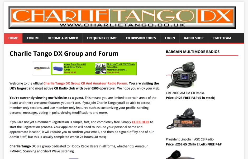Charlie Tango DX Group