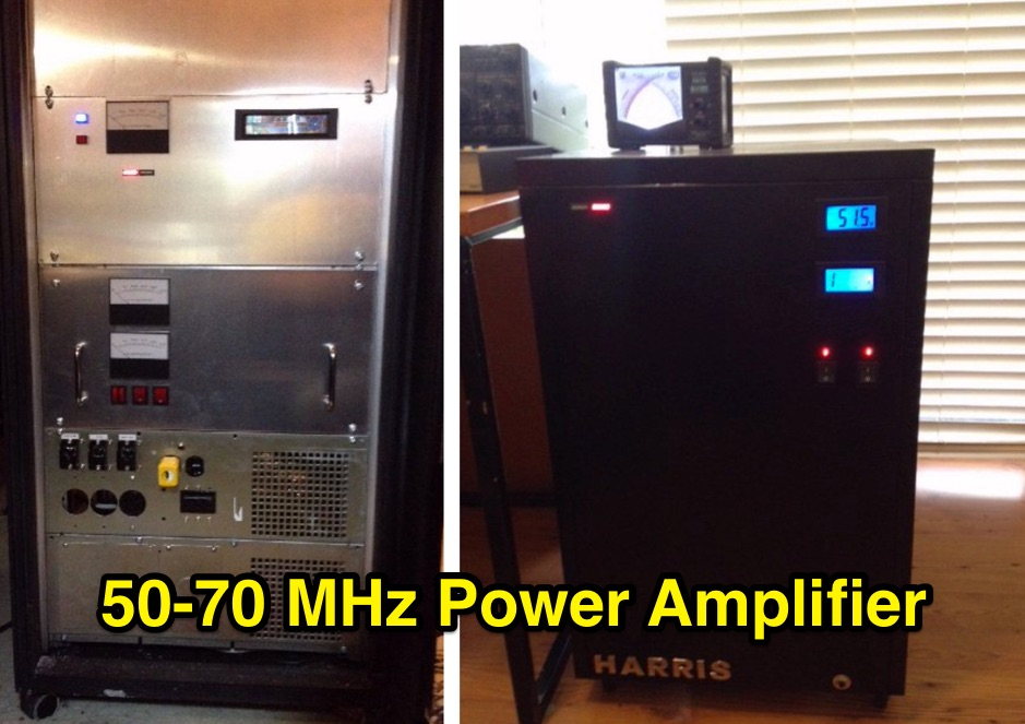 Harris Platinum Solid State Power Amplifier for 50 or 70 MHz