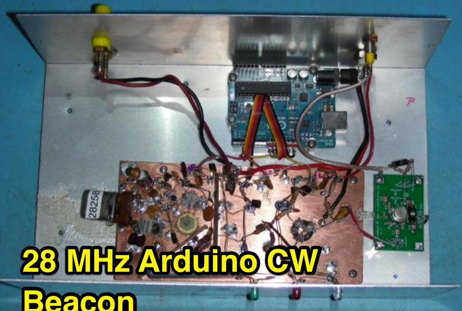 The WB0RIO 28 Mhz Arduino Beacon