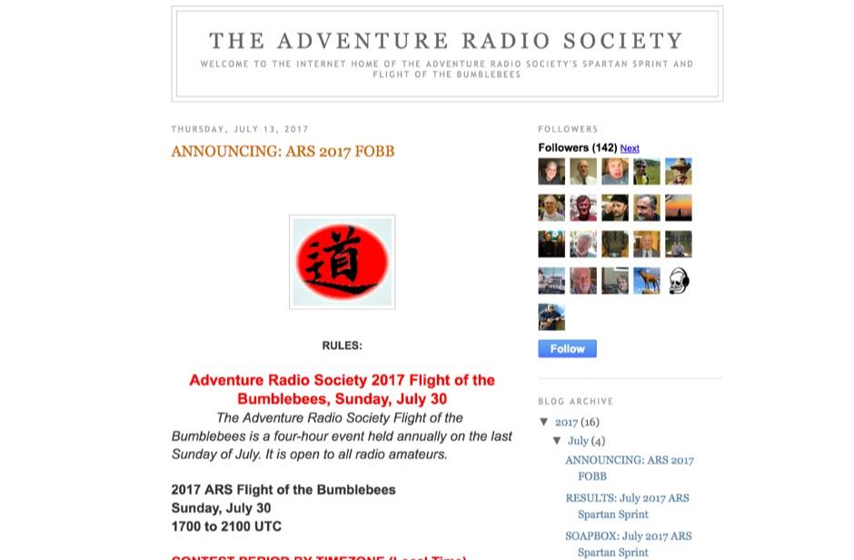 Adventure Radio Society
