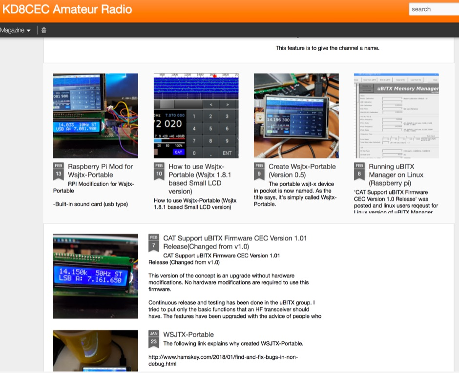 KD8CEC Amateur Radio Blog