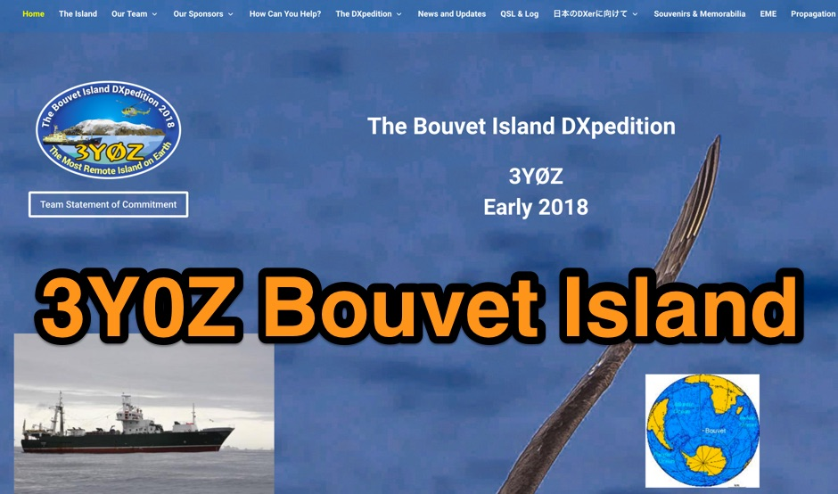 3Y0Z The Bouvet Island DXpedition