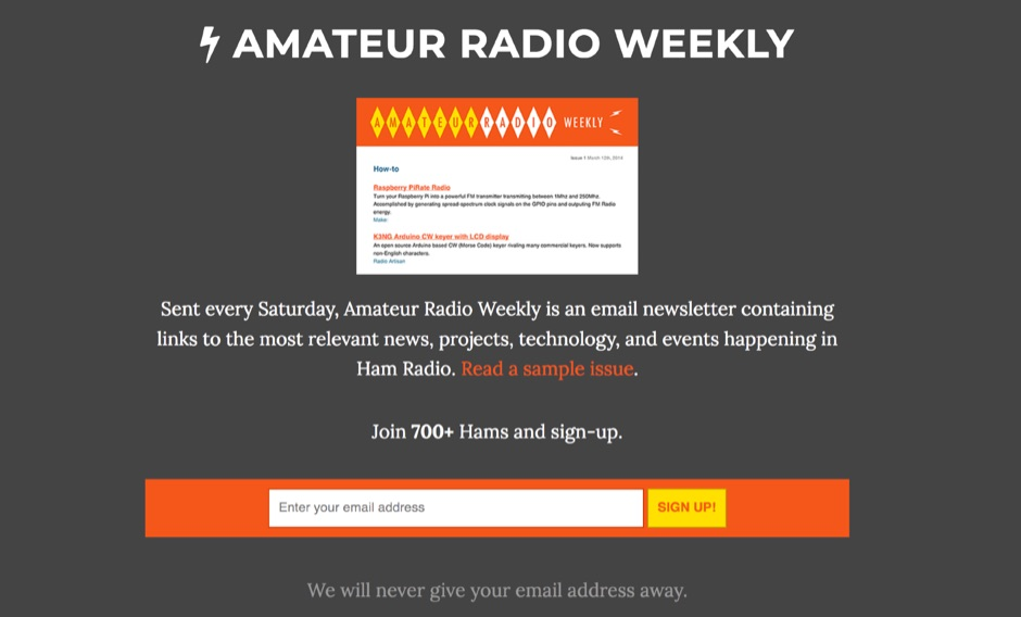 Amateur Radio Weekly