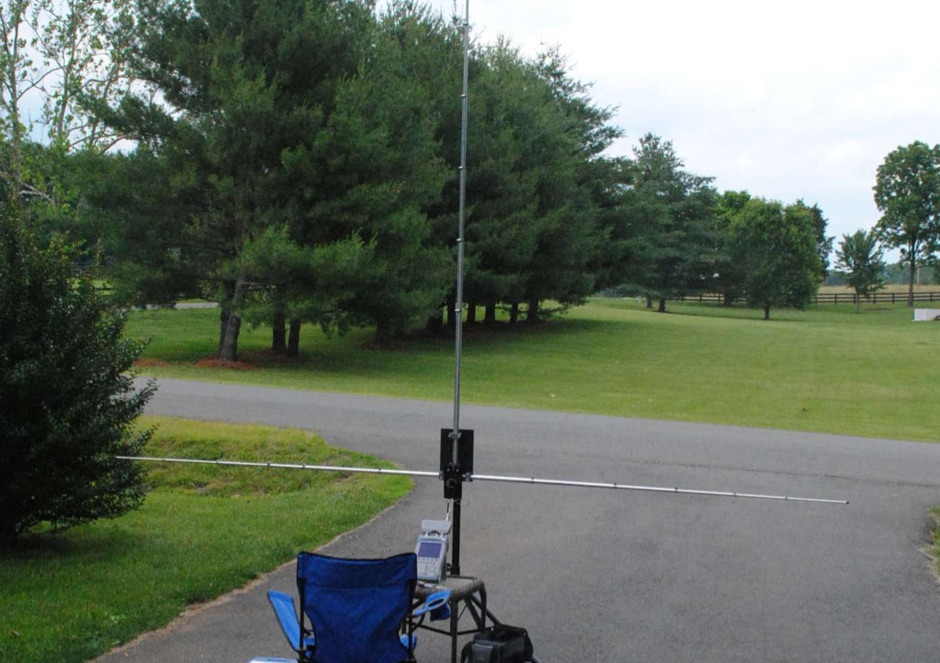 Portable HF Antenna for the field day