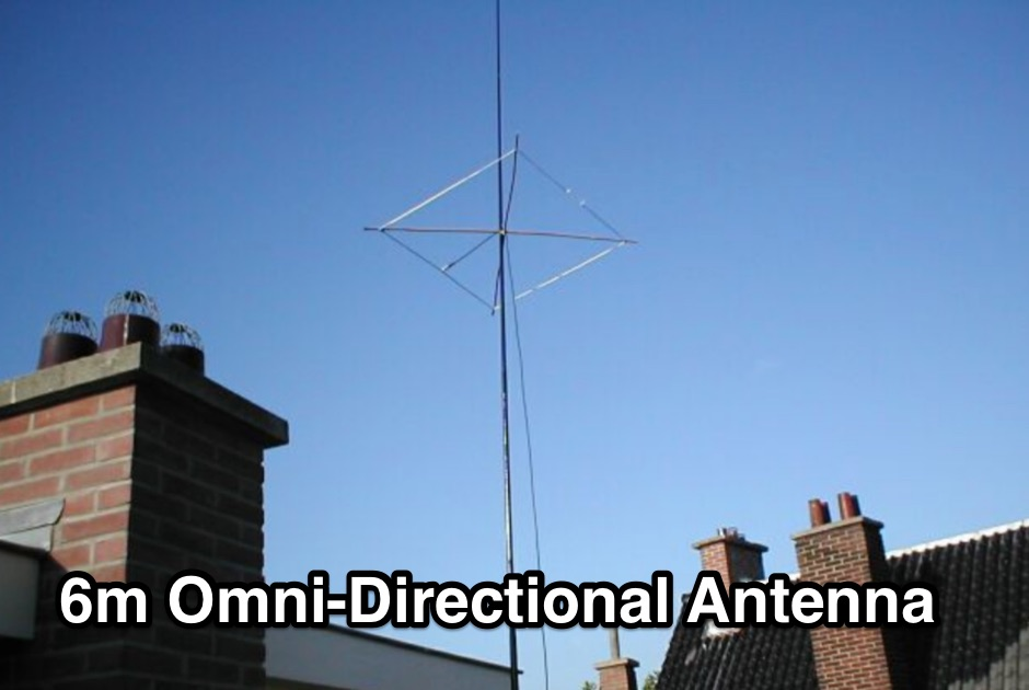 Omni-directional Antenna for 50 MHz