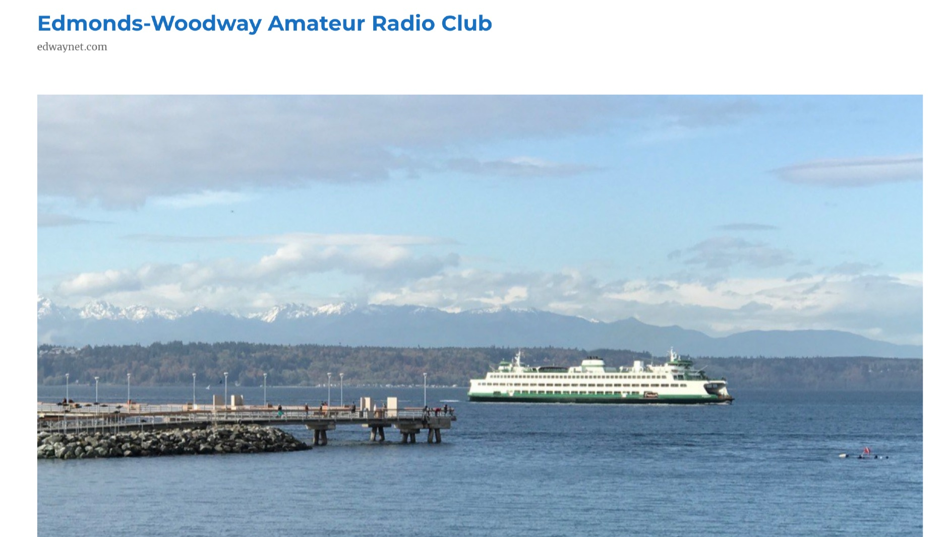 Edmonds-Woodway Amateur Radio Club