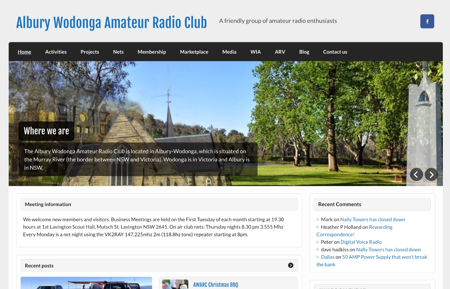Albury Wodonga Amateur Radio Club