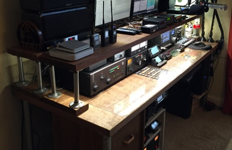 The Great Ham Radio Desk Project