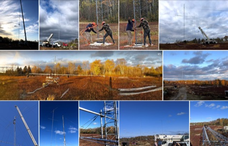 Towers Setup at Jonesport - picture gallery