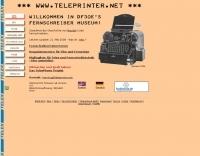 DF3OE's teleprinter museum