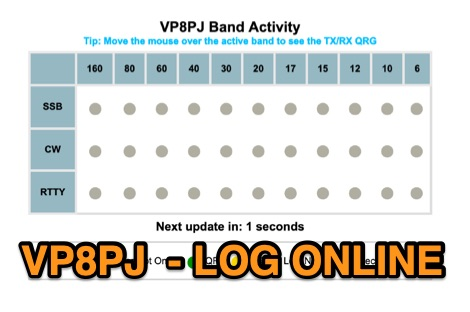 VP8PJ Log Online